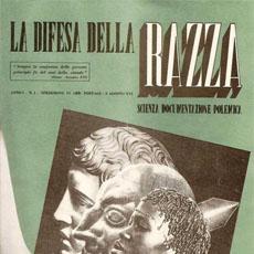 1938 – LO STATO ITALIANO EMANA LE LEGGI RAZZIALI