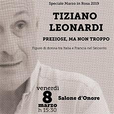 VENERDI' 8 MARZO TIZIANO LEONARDI