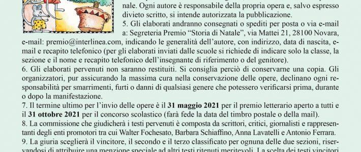 """Premio """"Storia di Natale"""" 2021"""